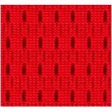 Silla Ergonómica PEGASO, Tapizada en Malla Roja con Apoyabrazos de Goma
