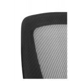 Silla de Oficina ARA, Base Acero Cromado y Respaldo de Malla Resistente