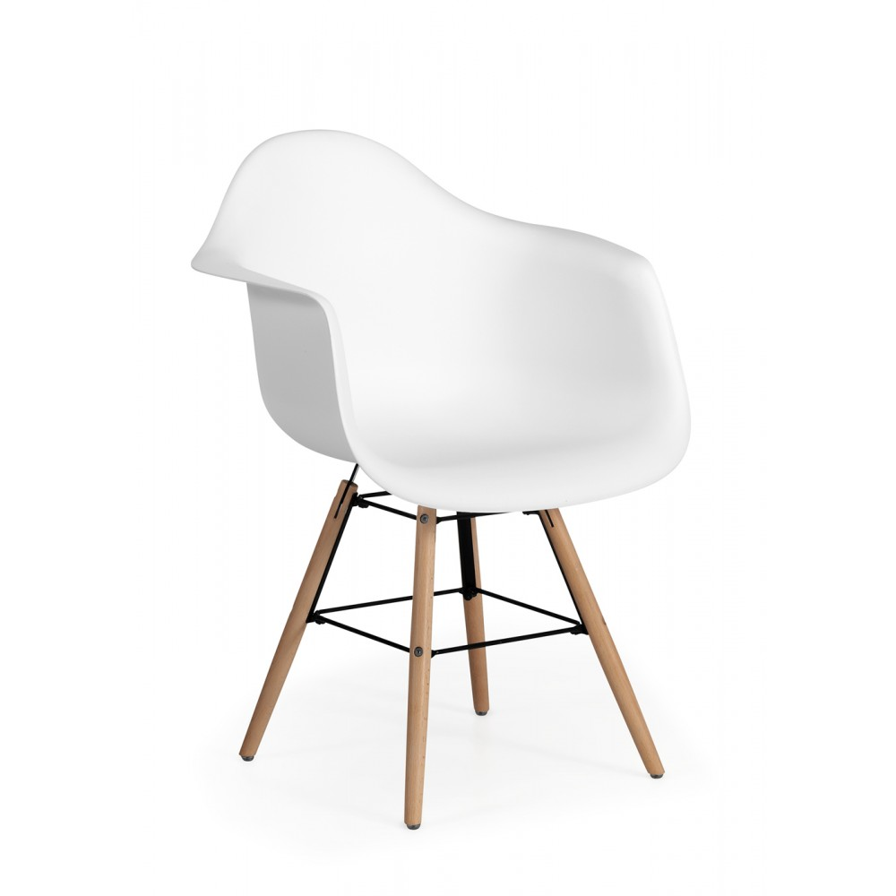 sillas de escritorio madera con rudas blanco