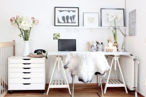 Cómo organizar una oficina en casa