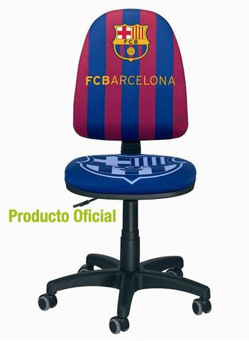 Disfruta del Barça, al mejor precio posible, con la silla de oficina oficial del F.C.B.