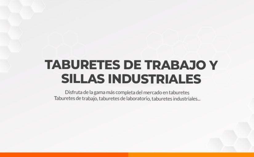 Taburetes de Trabajo y Sillas Industriales